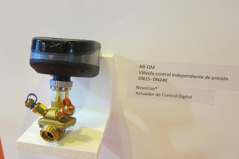 Válvula de equilibrado de Danfoss presentada en Climatización y Refrigeración 2017.