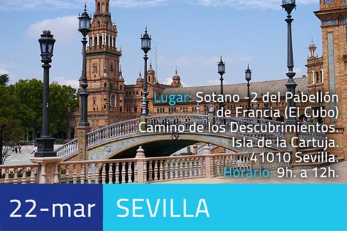 Anuncio de la jornada Impulsando Pymes que tendrá lugar en Sevilla el 22 de marzo.