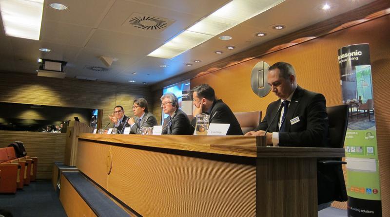 Rueda de prensa de Panasonic en Ifema para presentar su estrategia de crecimiento en Europa basada en la unidad de negocio de Climatización