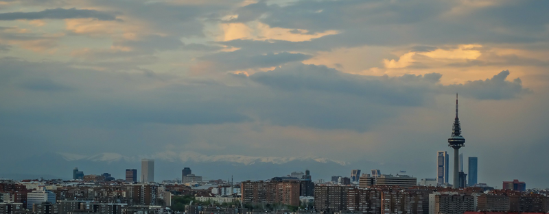 Skyline Madrid.