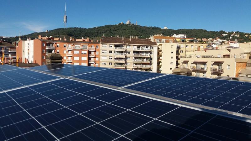 Instalación de autoconsumo fotovoltaico.