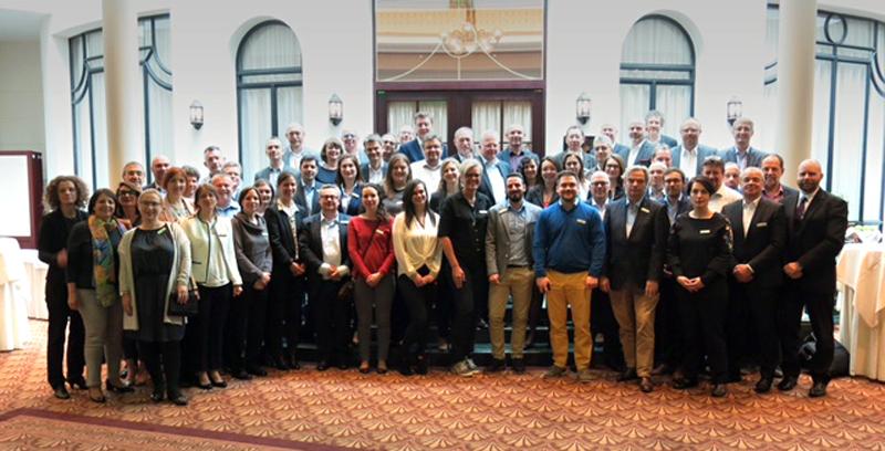 Participantes en la Conferencia de EucoLight en Bratislava.