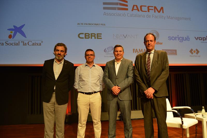 Participantes en la presentación oficial de la Asociación Catalana de Facility Management.