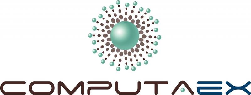 Logo de Computaex, Fundación Computación y Tecnologías Avanzadas de Extremadura.