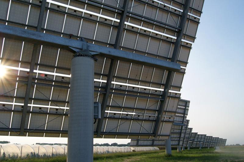 Paneles solares fotovoltaicos.