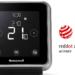 Los termostatos serie T de Honeywell reciben el Premio de diseño Red Dot 2017