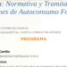 Jornada sobre Normativa y Tramitación de Instalaciones de Autoconsumo Fotovoltaico