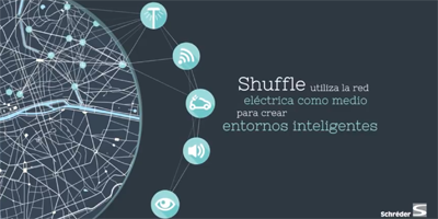 Shuffle, iluminación eficiente e interactiva de Schréder