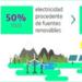 Telefónica consigue que el 44% de su consumo energético sea renovable