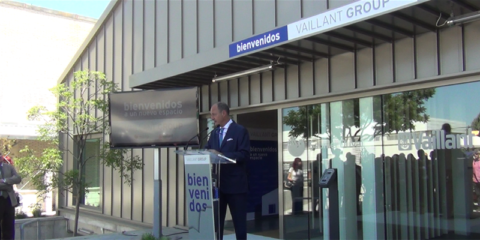 Inauguración de la nueva sede sostenible de Vaillant Group en Madrid