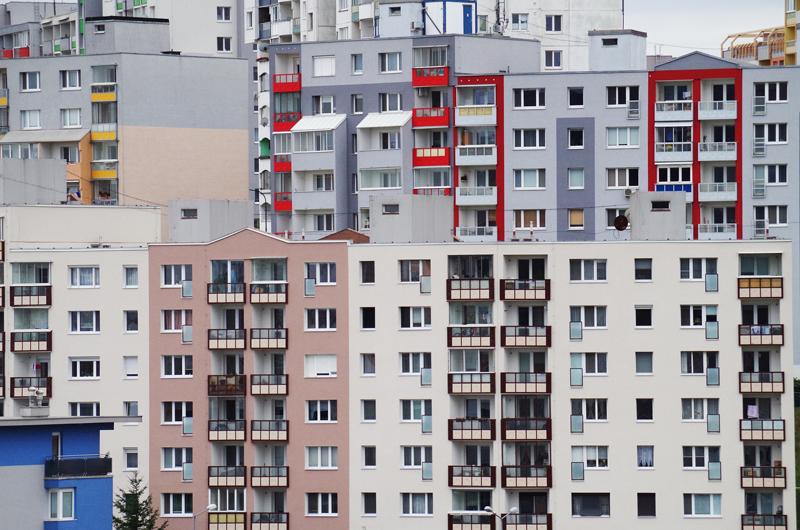 Bloques de viviendas.