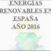 """Jornada de presentación del """"Análisis de la situación de las Energías Renovables en España"""""""