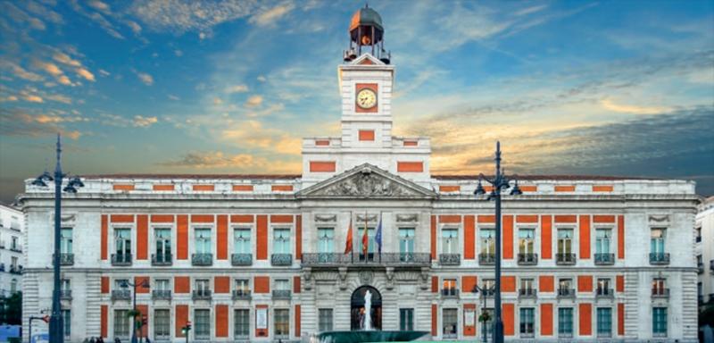 Real Casa de Correos. Sede de la Presidencia del Gobierno de la Comunidad de Madrid.