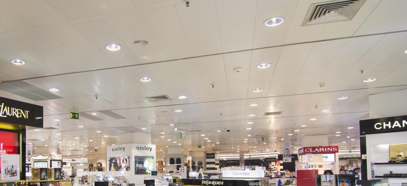El Corte Ingles Mejora Su Eficiencia Energetica Renovando La - Iluminacion-el-corte-ingles