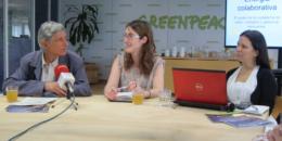 Greenpeace presenta su informe sobre el papel de la ciudadanía en la Transición Energética
