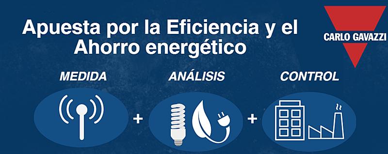 Anuncio del Seminario de Carlo Gavazzi sobre Eficiencia Energética en Bilbao.