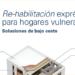 Gas Natural Fenosa da las claves de Rehabilitaciones Energéticas a bajo coste para hogares vulnerables
