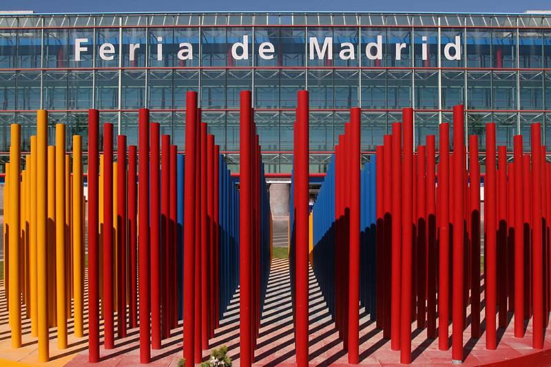 Entrada principal de Feria de Madrid, Iferma.
