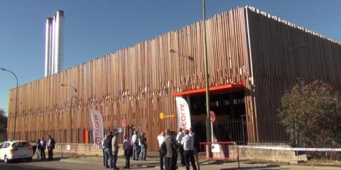 Veolia inaugura la Red de Calor con Biomasa Móstoles Ecoenergía