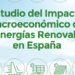 Estudio de APPA sobre el Impacto Macroeconómico de las Energías Renovables en España en 2016
