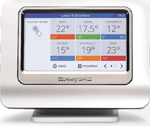 Evohome Connected Wi-Fi de Honeywell.