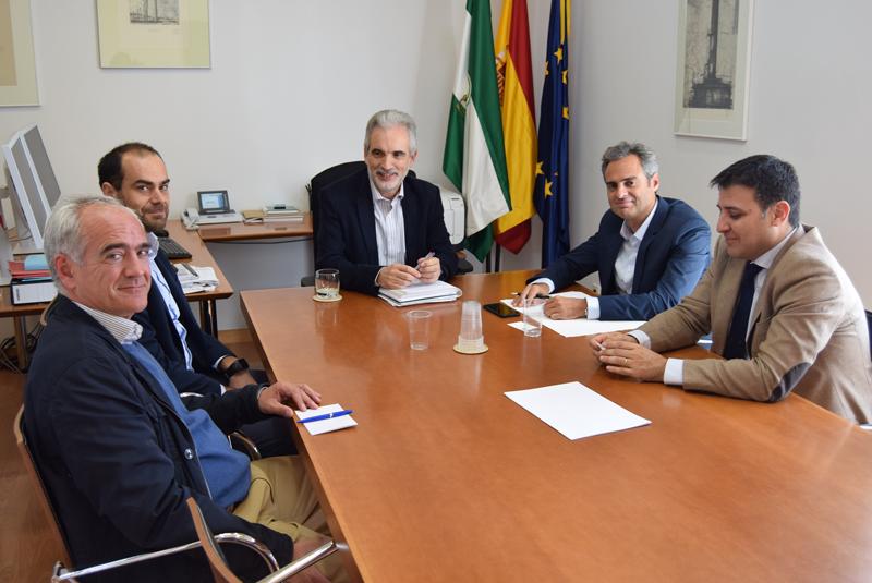 Reunión de ASIT con la dirección de la Agencia Andaluza de la Energía.