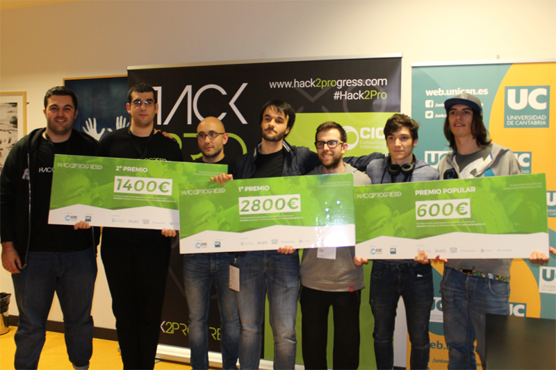 Ganadores del III Hack2Progress