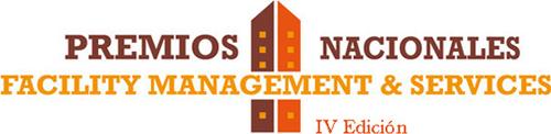 Logo de los IV Premios Nacionales Facility Management & Services.