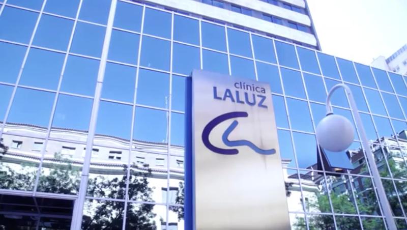 Hospital La Luz, fachada.
