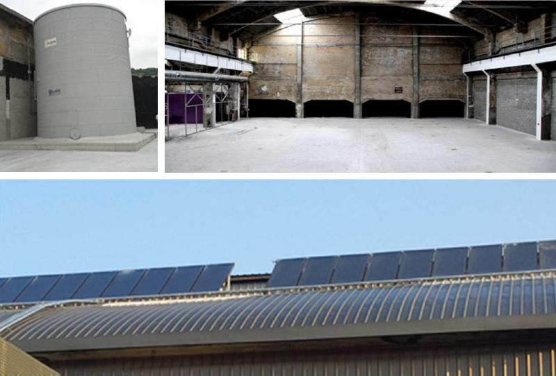 Instalaciones de la planta piloto en Bilbao del proyecto EINSTEIN.