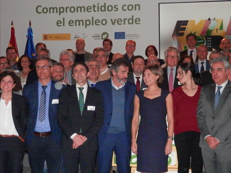 Beneficiarios del Programa Empleaverde de Fundación Biodiversidad.