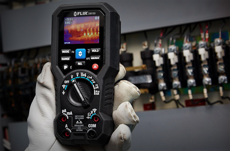 Multímetro termográfico Flir DM166.