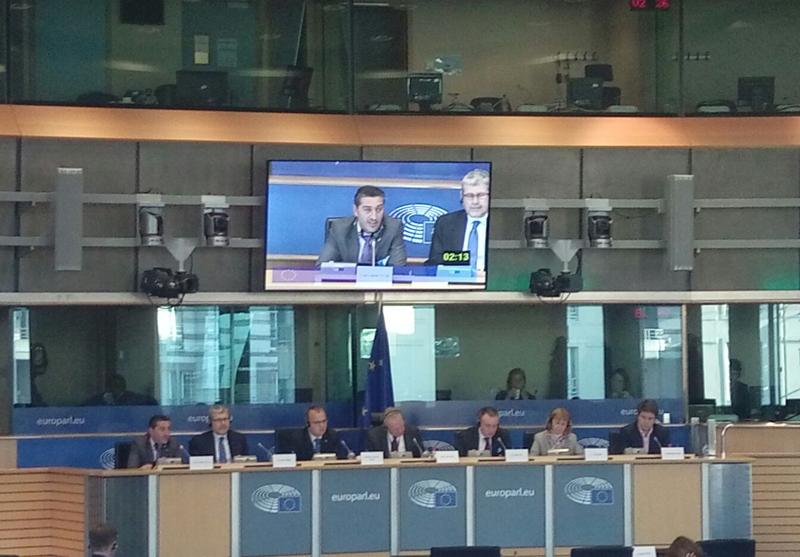 AGENEX defiende ante el Parlamento Europeo en Bruselas una regulación estándar y estable del autoconsumo