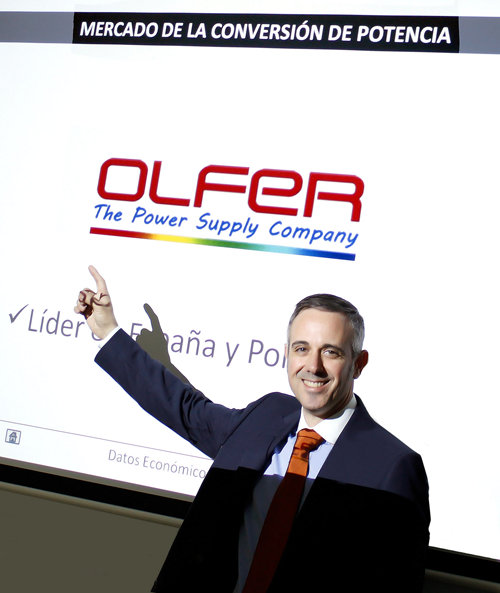 Ángel Oltra, director adjunto de Olfer.