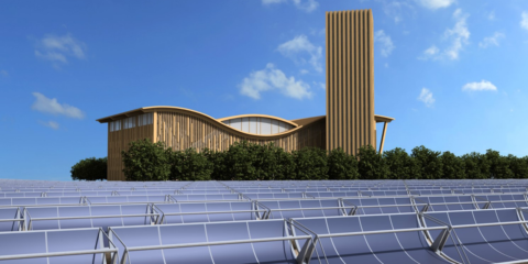 Biomasa y tecnología solar en Alcalá Eco Energías, el nuevo District Heating de Alcalá de Henares