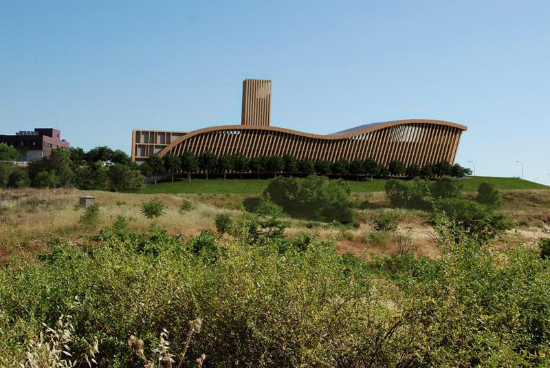 Central de biomasa de Alcalá Eco Energías.