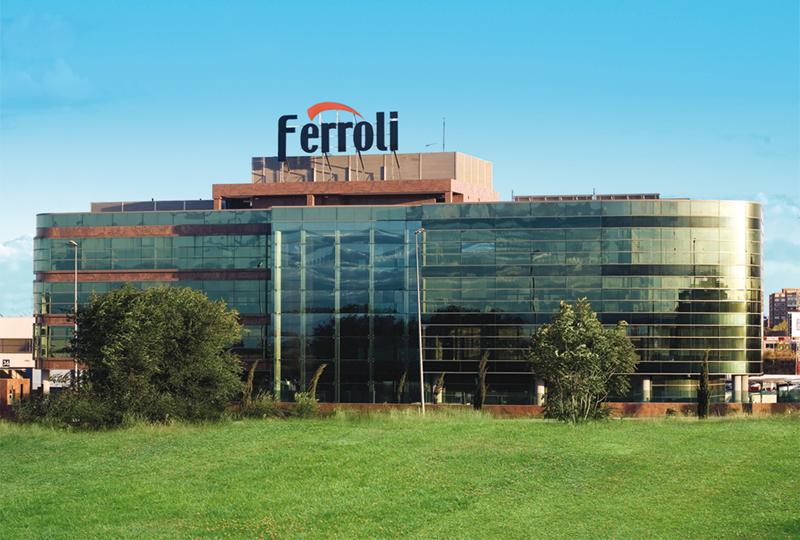 Sede de Ferroli España en Coslada, Madrid.