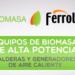 Equipos de biomasa industrial de Ferroli