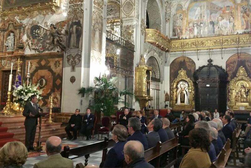 Iglesia María Magdalena de Sevilla. Inauguración de la iluminación.