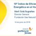 10º Índice de Eficiencia Energética en el Hogar, de Fundación Gas Natural Fenosa