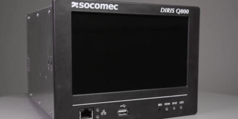 Socomec Diris Q800: Analizador de red eléctrica multifuncional