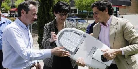 Pozuelo de Alarcón reduce su factura energética con la renovación del alumbrado público