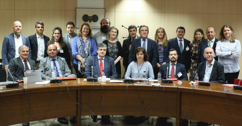 Foto de familia del Comité Técnico del 4 Congreso Ciudades Inteligentes.