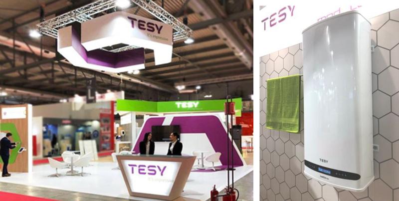 Stand de TESY en MCE Expocomfort 2018.