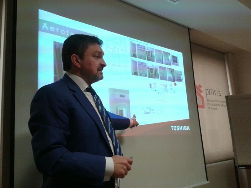 Carlos Gómez Caño, director general de Toshiba Calefacción & Aire Acondicionado