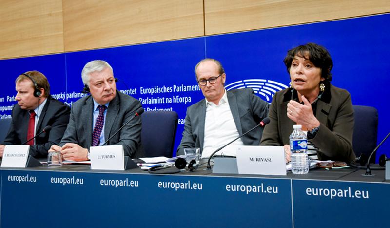 Eurodiputados.
