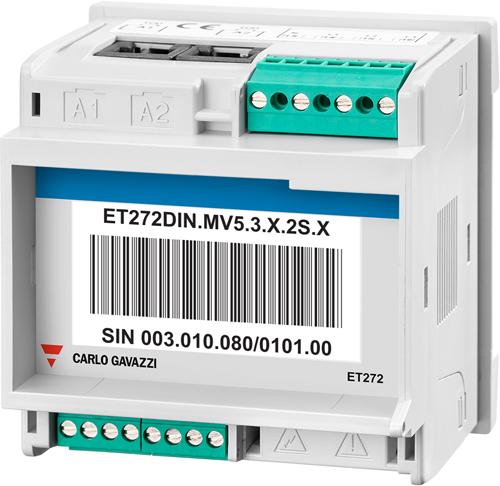 Transductor ET272 de Carlo Gavazzi.
