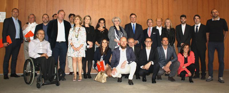 Foto de familia del Comité Técnico del IV Congreso Ciudades Inteligentes