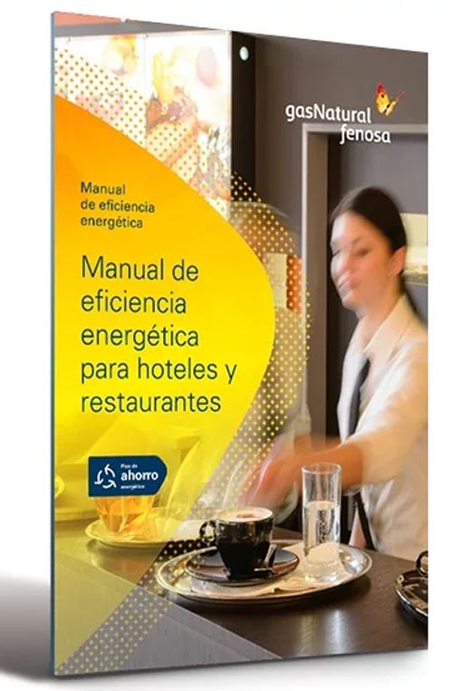 Portada Manual de eficiencia energética en hoteles y restaurantes de Gas Natural Fenosa.
