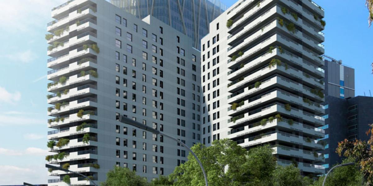 Dos nuevos edificios de barcelona refuerzan su eficiencia for Pisos nuevos en barcelona